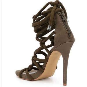 d61ae8483a9 Steve Madden Shoes - NWTIB Steve Madden Dream Nubuck Ankle Tie Sandals